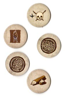 Robinson Crusoe discovery tokens