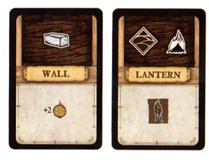 Robinson Crusoe item cards