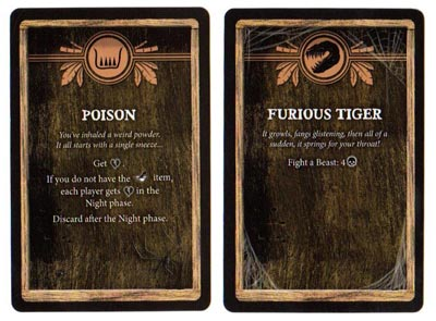 Robinson Crusoe mystery cards