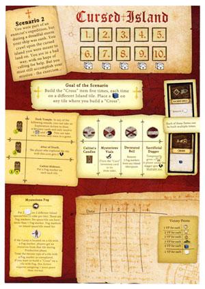 Robinson Crusoe scenario card