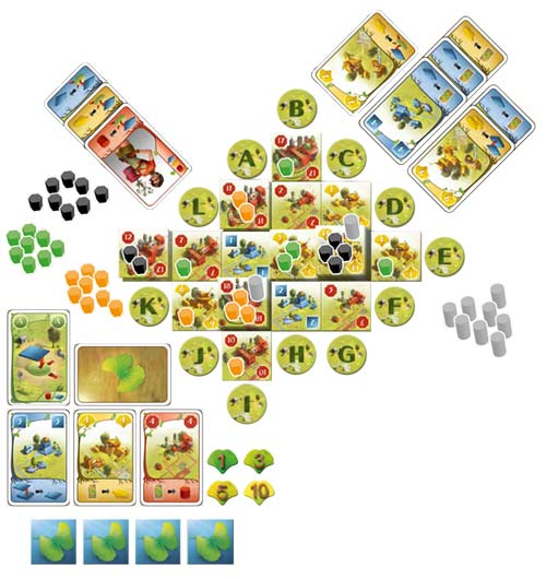 Ginkgopolis game in play