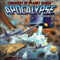 Conquest of Planet Earth: Apocalypse - Board Game Box Shot