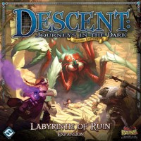 Descent: Journeys in the Dark (2ed) – Labyrinth of Ruin - Board Game Box Shot