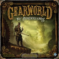 Gearworld: The Borderlands - Board Game Box Shot