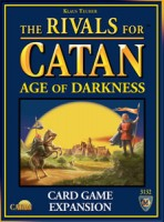 The Rivals for Catan: Age of Darkness - Board Game Box Shot