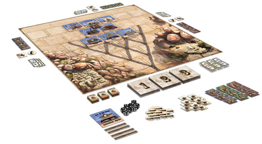 Deadwood game in play