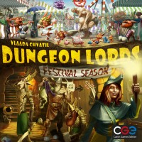 Dungeon Lords: Festival Season - Board Game Box Shot