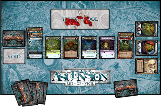 Ascension: Rise of Vigil game in play