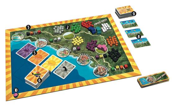 Cinque Terre game setup