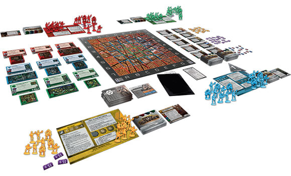 City of Remnants game in play