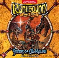 Runebound: Sands of Al-Kalim - Board Game Box Shot