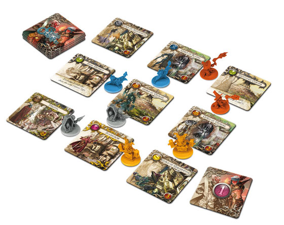 Guilds of Cadwallon game in play