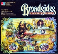 Broadsides and Boarding Parties - Board Game Box Shot