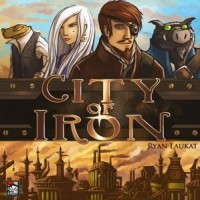 City of Iron - Board Game Box Shot