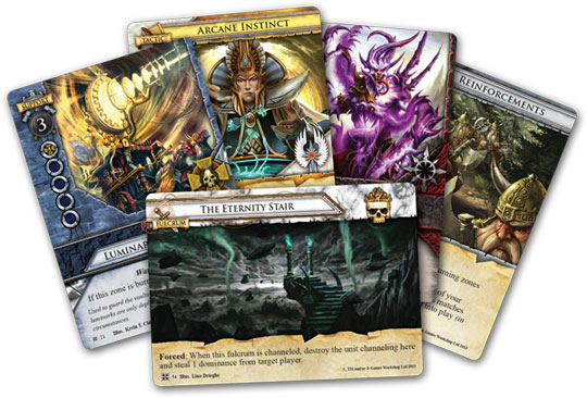 Warhammer: Invastion - Cataclysm cards