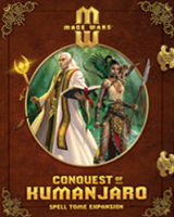 Mage Wars: Conquest of Kumanjaro – Spell Tome Expansion - Board Game Box Shot