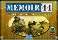 Memoir '44: Mediterranean Theater - Board Game Box Shot