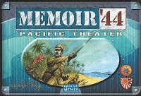 Memoir '44: Pacific Theater - Board Game Box Shot