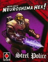 Neuroshima Hex! Steel Police - Board Game Box Shot