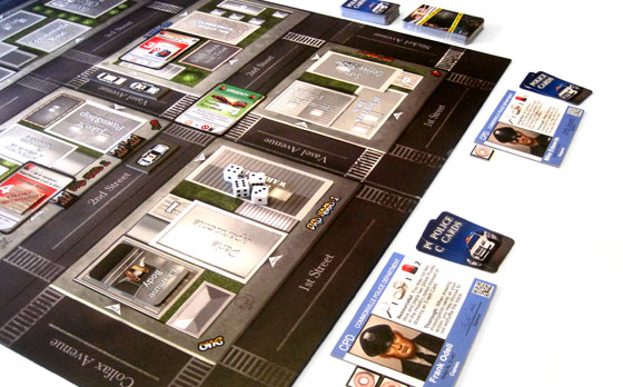Police Precinct game in play