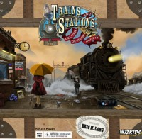 Trains and Stations - Board Game Box Shot