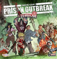 Zombicide: Season 2 – Prison Outbreak - Board Game Box Shot