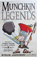 Munchkin Legends - Board Game Box Shot