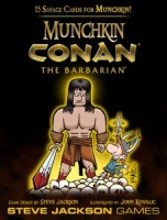 Munchkin: Conan the Barbarian - Board Game Box Shot