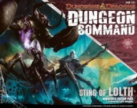 Dungeon Command: Sting of Lolth - Board Game Box Shot