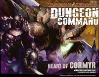 Dungeon Command: Heart of Cormyr - Board Game Box Shot