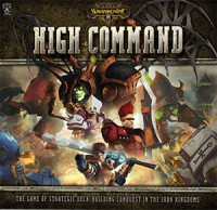 Warmachine: High Command - Board Game Box Shot