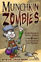 Munchkin Zombies - Board Game Box Shot