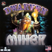 Dwarven Miner - Board Game Box Shot
