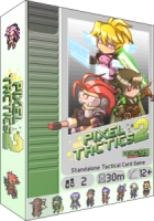Pixel Tactics 2 - Board Game Box Shot