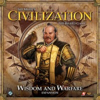 Sid Meier's Civilization: The Board Game – Wisdom and Warfare - Board Game Box Shot