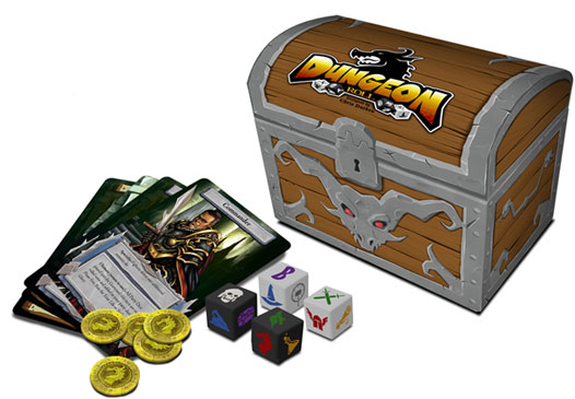 Dungeon Roll components