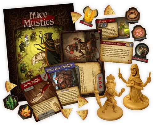 Mice and Mystics: Heart of Glorm components
