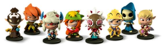 Krosmaster: Arena figures