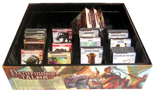 Pathfinder Adventure Card Game box interior