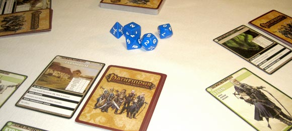 Pathfinder Adventure Card Game close up