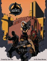 The Agents - Board Game Box Shot