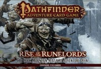 Pathfinder ACG: RotR – The Hook Mountain Massacre Adventure Deck - Board Game Box Shot
