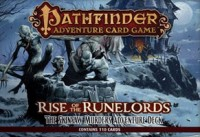 Pathfinder ACG: RotR – The Skinsaw Murders Adventure Deck - Board Game Box Shot