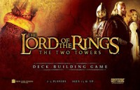 The Lord of the Rings: The Two Towers Deck Building Game - Board Game Box Shot