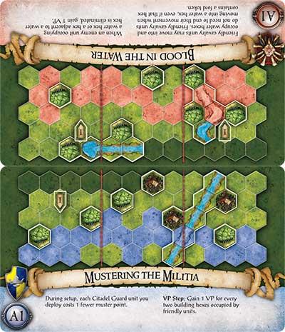 BattleLore Second Edition board game scenario cards