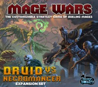 Mage Wars: Druid vs Necromancer - Board Game Box Shot
