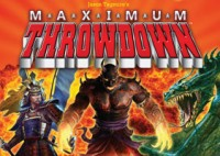 Maximum Throwdown - Board Game Box Shot