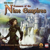 Romance of the Nine Empires - Board Game Box Shot