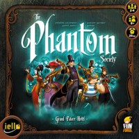 The Phantom Society - Board Game Box Shot