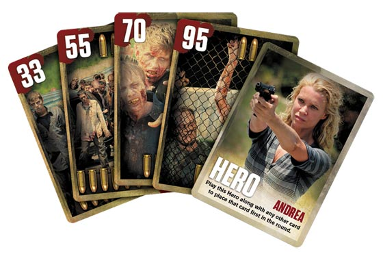 The Walking Dead Card Game cards